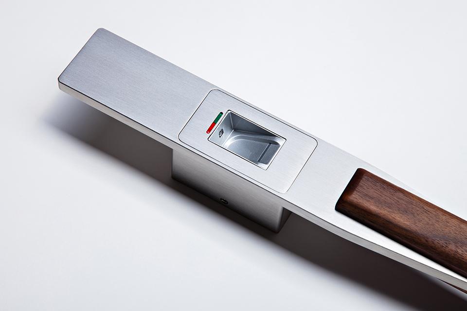 fingerscan t rgriff fpsg 12 mit biometrischem fingersensor. Black Bedroom Furniture Sets. Home Design Ideas
